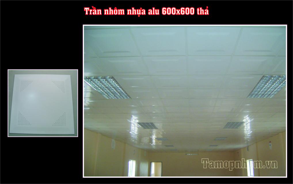 Trân nhôm Astrongest - trần nhôm nhựa Alu