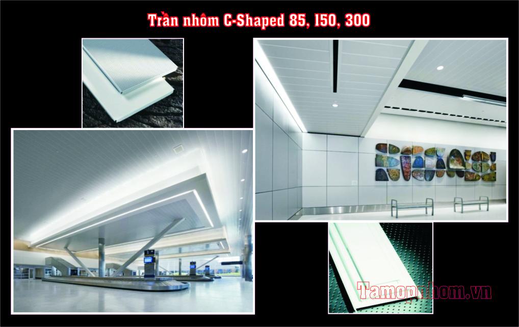 Trần nhôm C150, C80, C100, C300 Astrongest